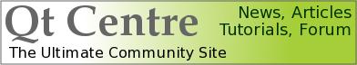 Qt Centre - The Ultimate Qt Community site